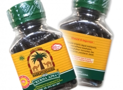 Traditional Healing Capsules with 100% Pure Black Seed from the Medicinal Nigella Sativa Plant